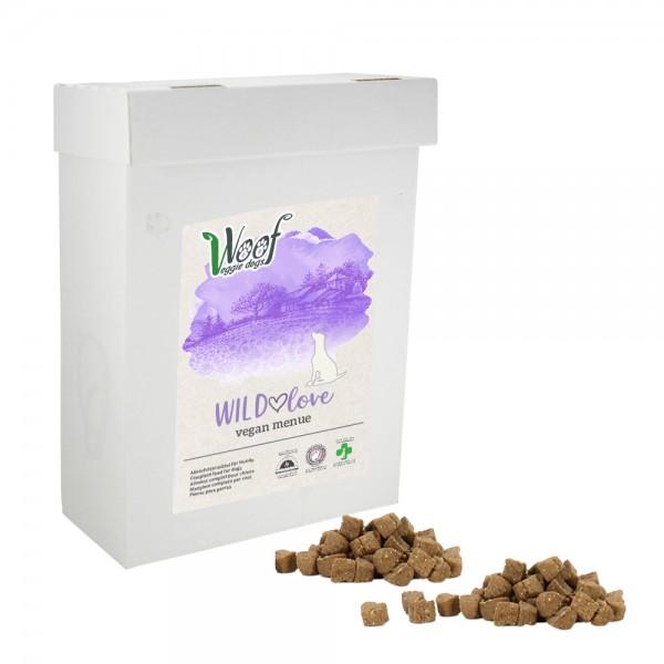WILDlove • vegan Trockenfutter • 1kg